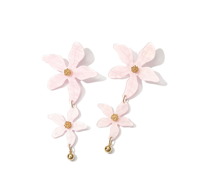 Vacation Peace Flower Earrings