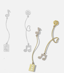 Endless Melody Earrings
