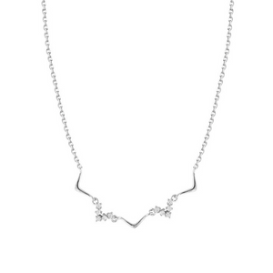 A Heartbeat Away Necklace (Sterling Silver)