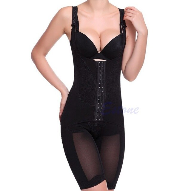 Sexy Women Full Body waist cincher tummy Shaper Shapewear Body Suit Underwear 23GE