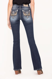 Through The Sun Bootcut Jeans
