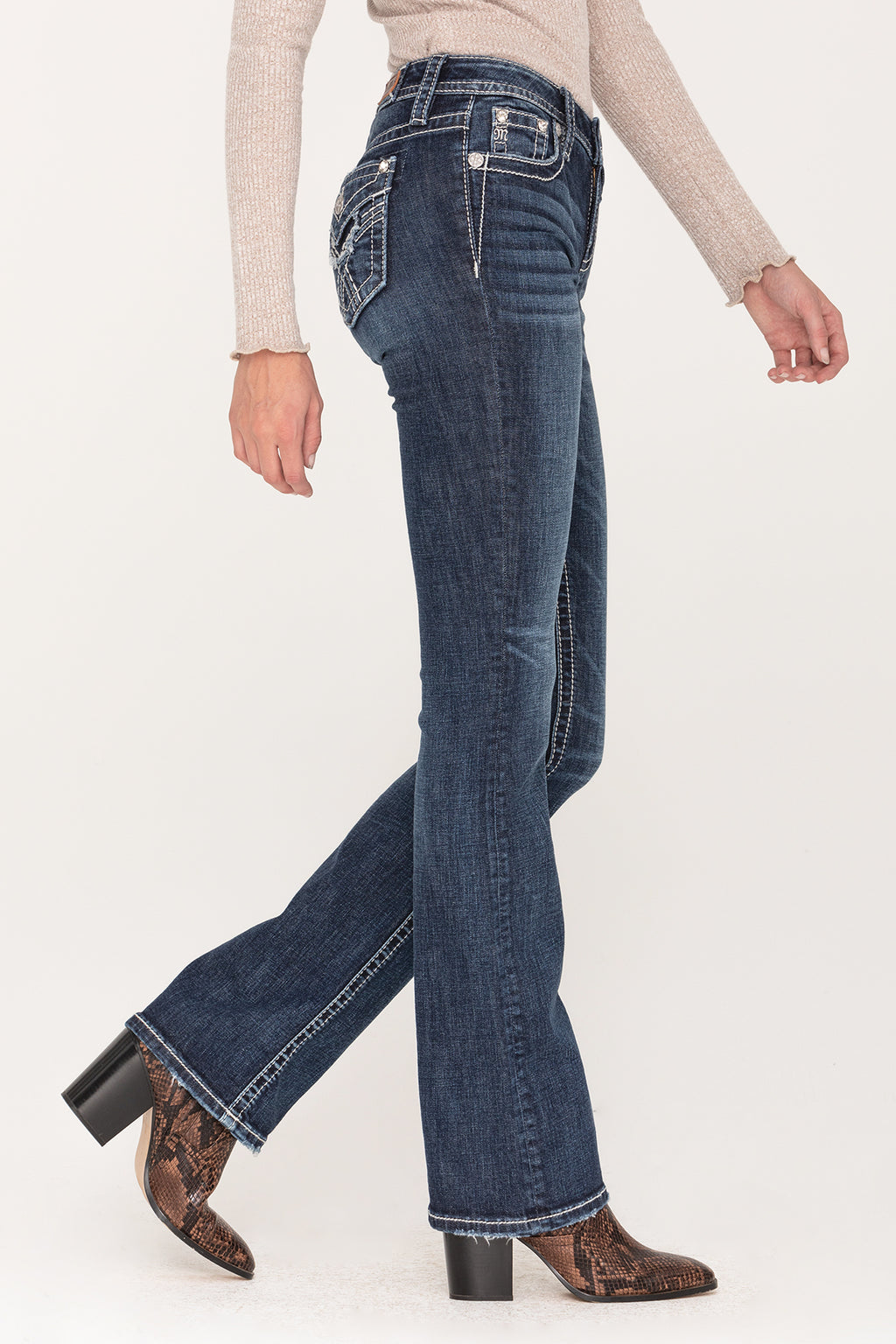 Let It Go Bootcut Jeans