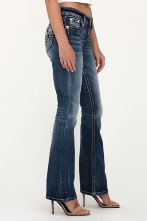 Diamond Cut Bootcut Jeans