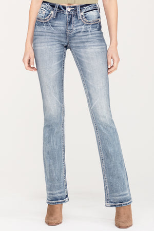 Sweet Stitch Bootcut Jeans