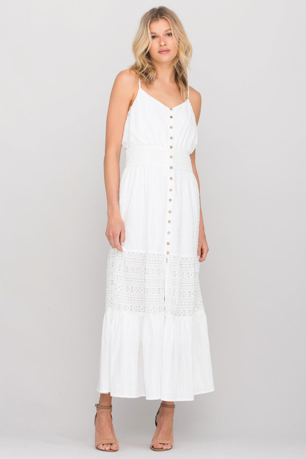 front, White
