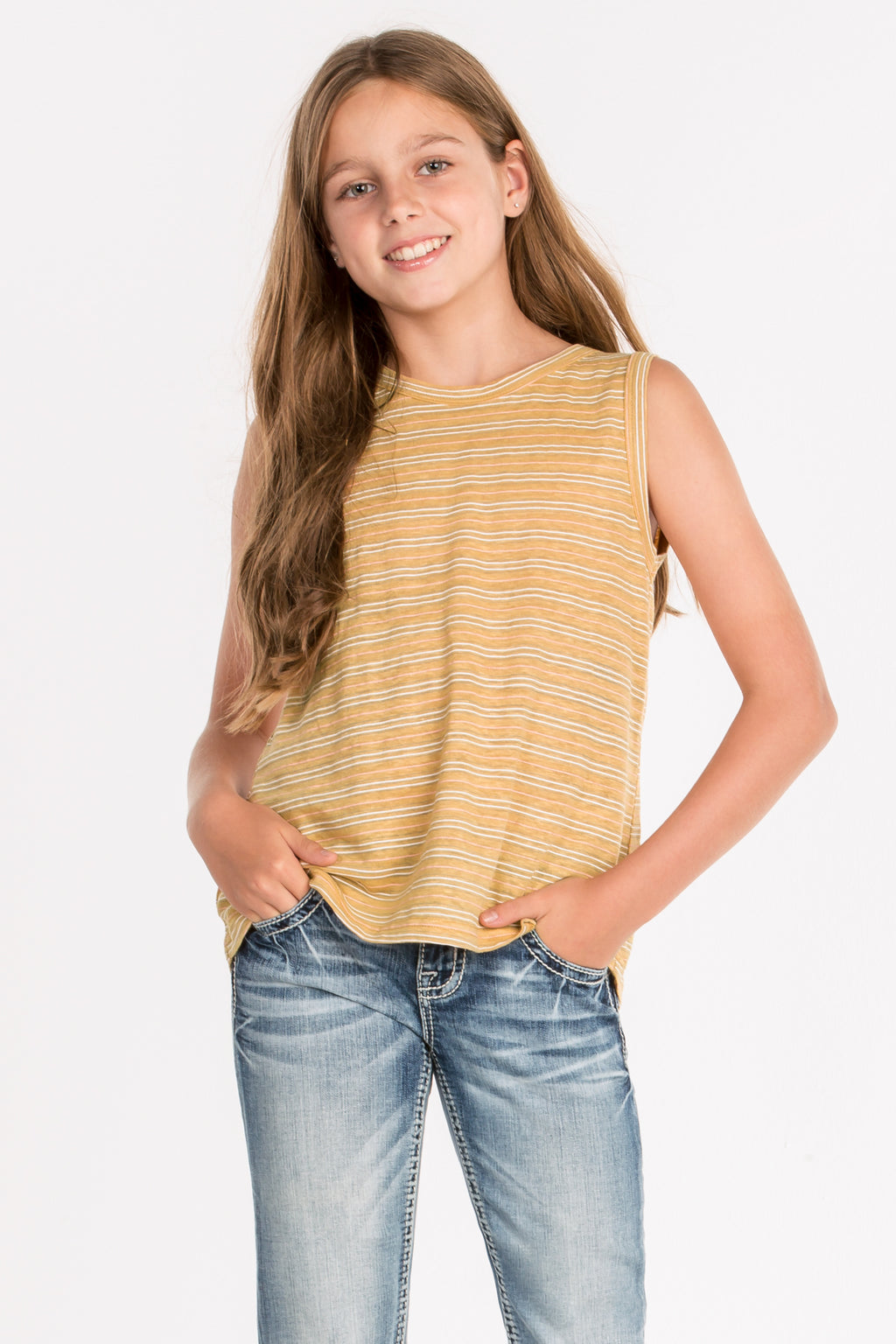 cba7c7e57632a0 GIRLS LIVE IN LOVE SLEEVELESS TOP