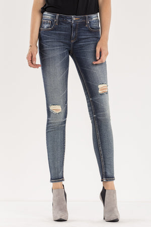 FEELS RIGHT MID-RISE SKINNY JEANS