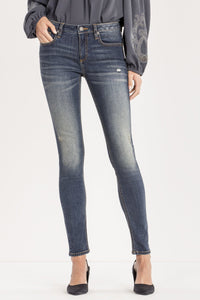 ALL IN STRIDE MID-RISE SKINNY JEANS