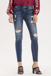 STIR IT UP MID-RISE SKINNY JEANS