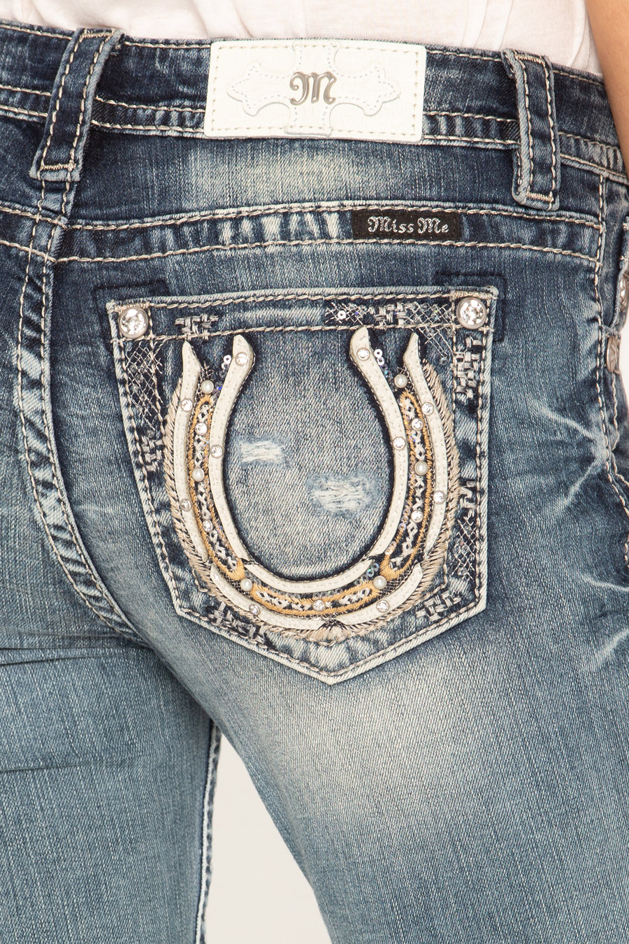 LUCKY GIRL BOOTCUT JEANS