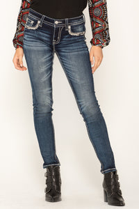 ON THE HORIZON SKINNY JEANS