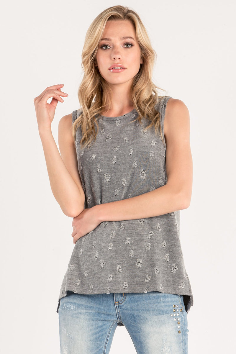 front, Grey