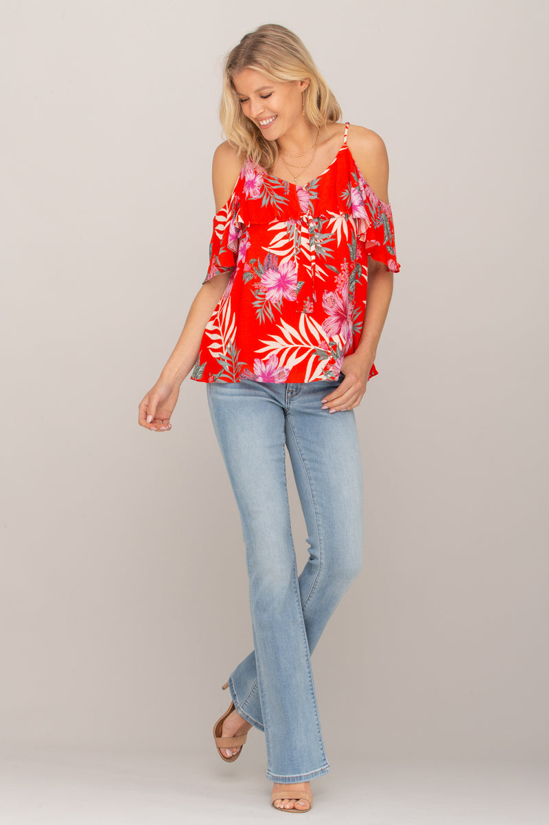 Floral Legend Top