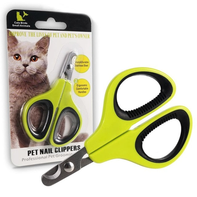LanLan Portable Professional Cat Nail Clippers Pet Cat Nail Scissor Nail Cutter