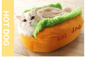 Hot Dog Bed - PetsMonarchy