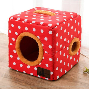 Funny Cube Bed - PetsMonarchy