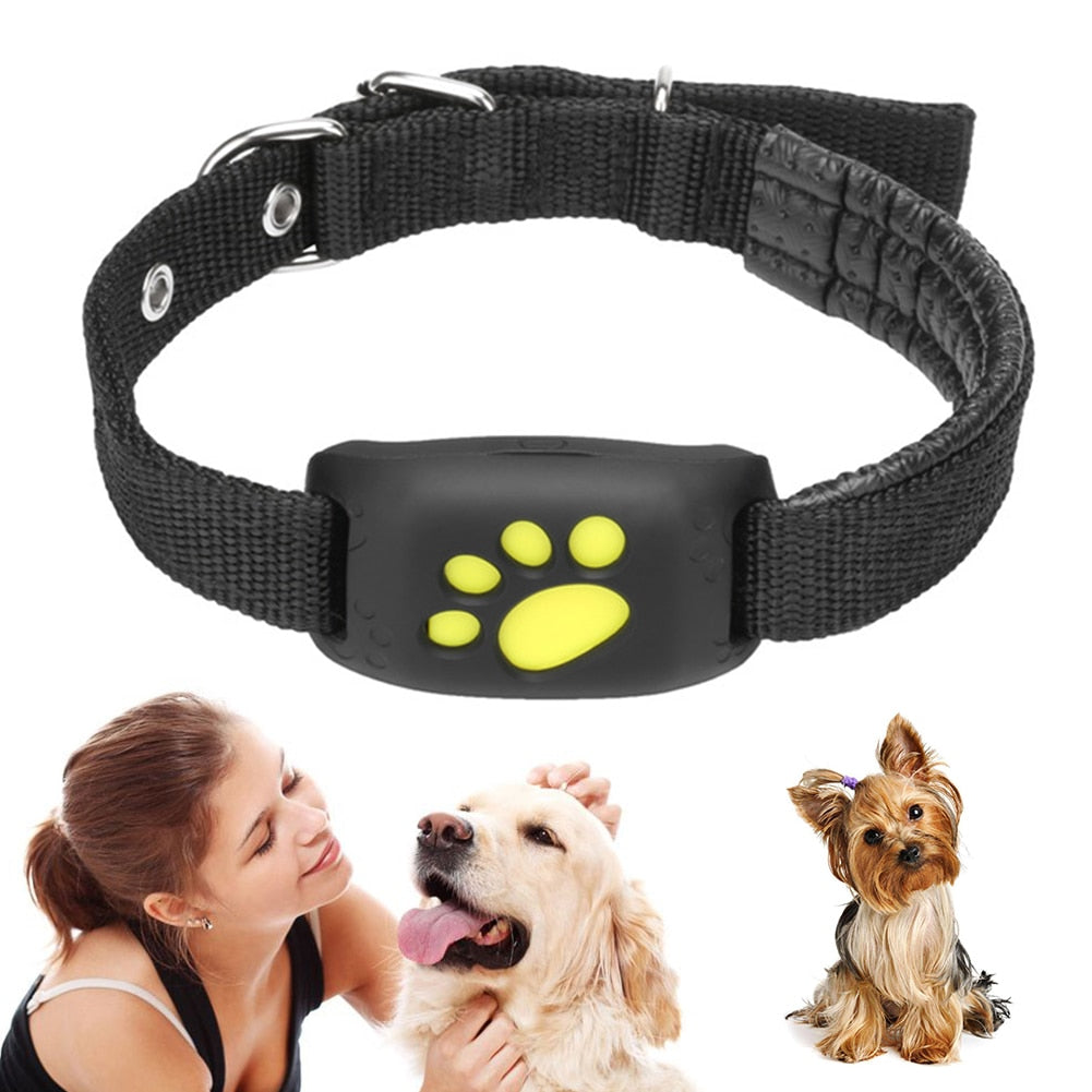 Waterproof Pets GSM GPS Dog Tracker Locator Tracking Finder For Pet Dog Cat Real Time Free APP Track Alarm Device