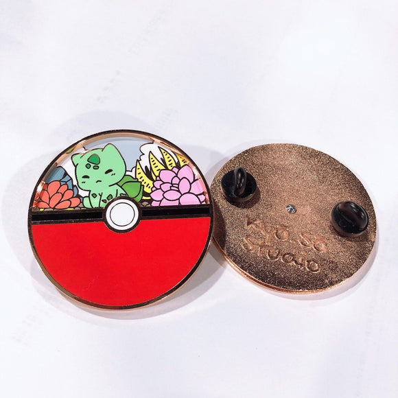 Bulbasaur Spinning Pin