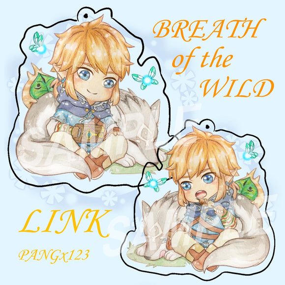Legend of Zelda : Breath of the Wild - Link Charm