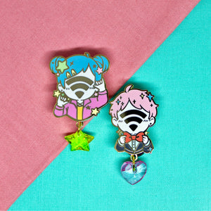 WiFi Kids [Original] Enamel Pins