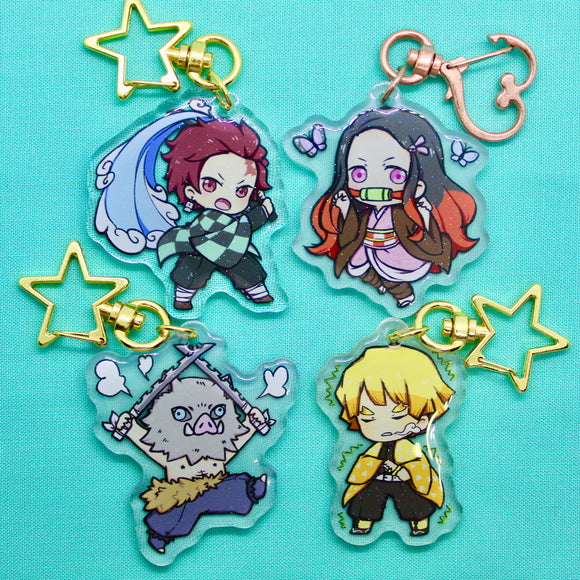 Demon Slayer Charms