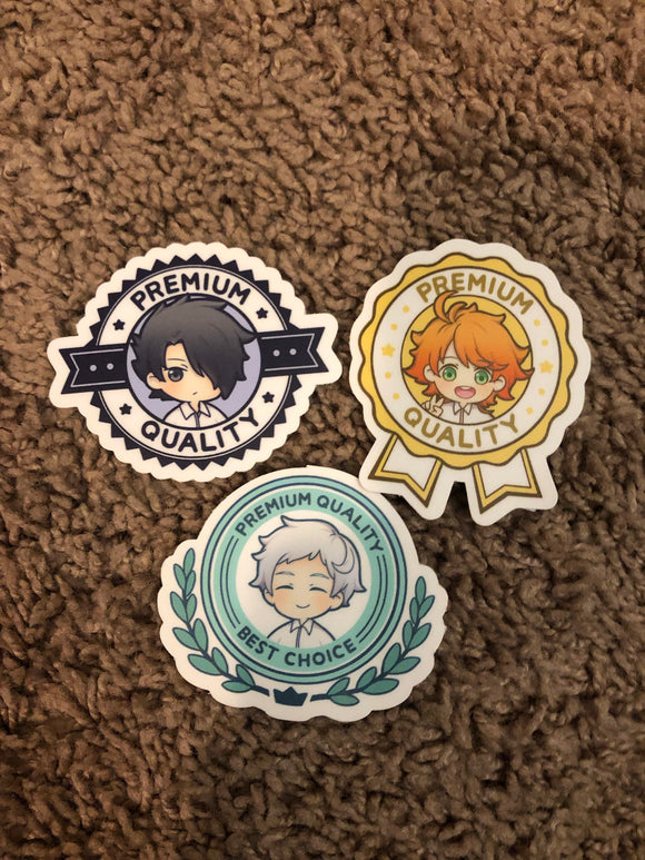 Promised Neverland Stickers