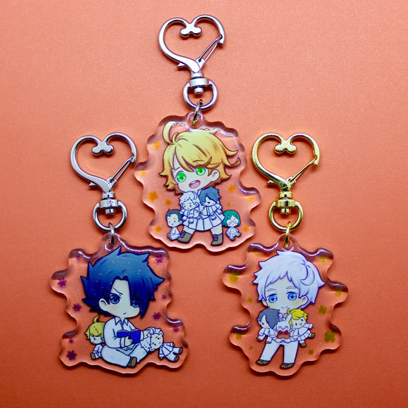 Promised Neverland Charms