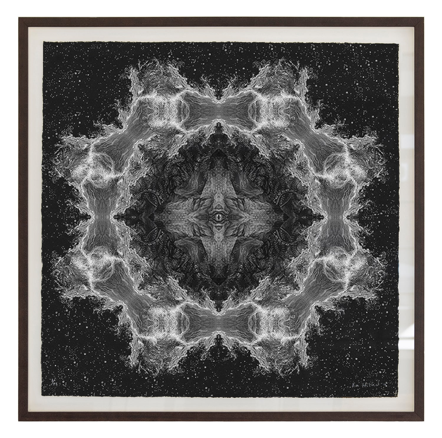 'Cthulhu' ~ ready framed in dark ash