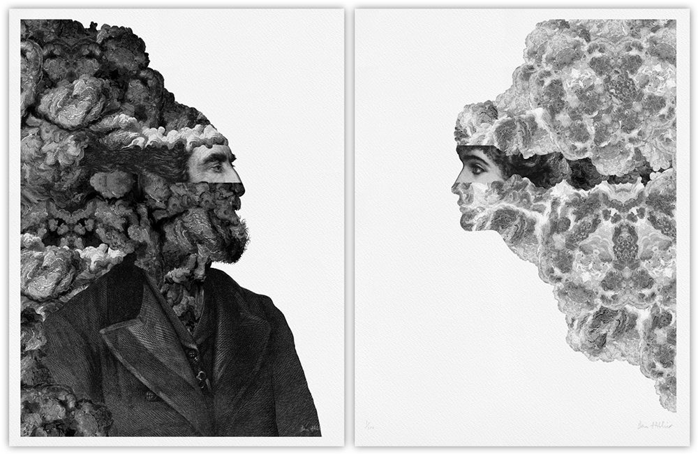 Frontiers (diptych) giclee prints