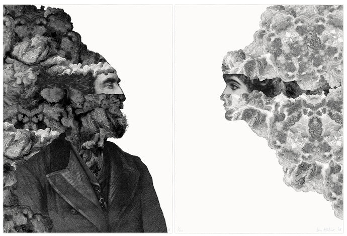 Frontiers - diptych