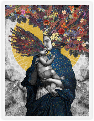 Mother and Child - giclee print