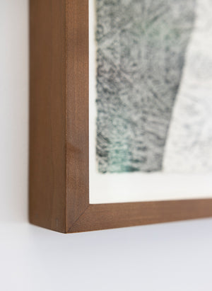 'Vanishing Point' ~ ready framed in cherry wood