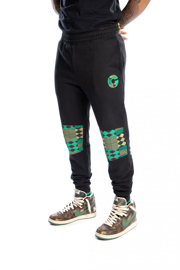 Boston Celtics Kente Knee Patch Pant