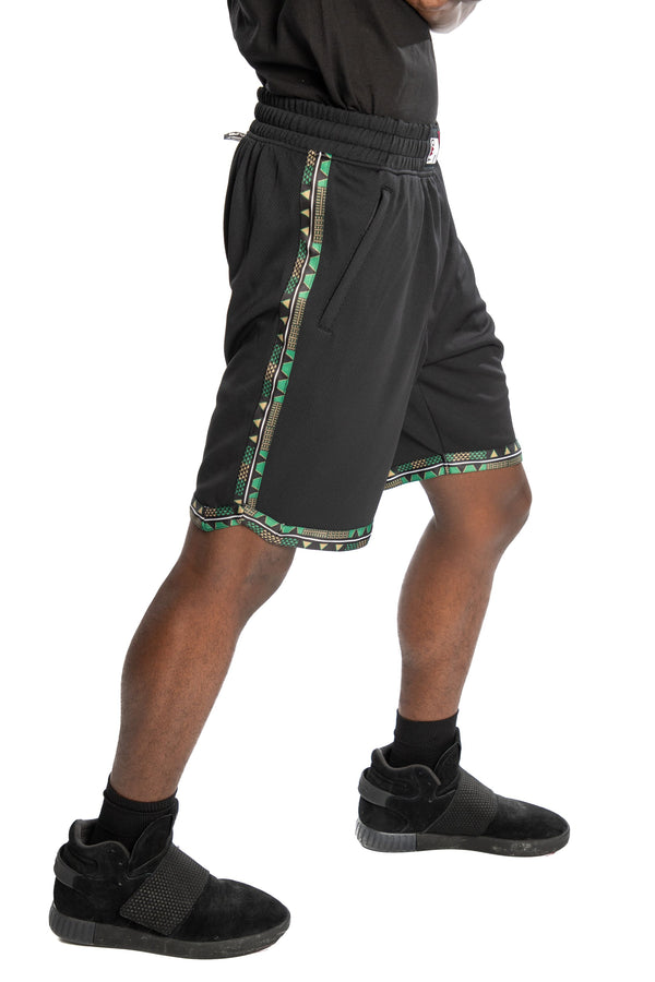 Boston Celtics Kente Dunk Short Black