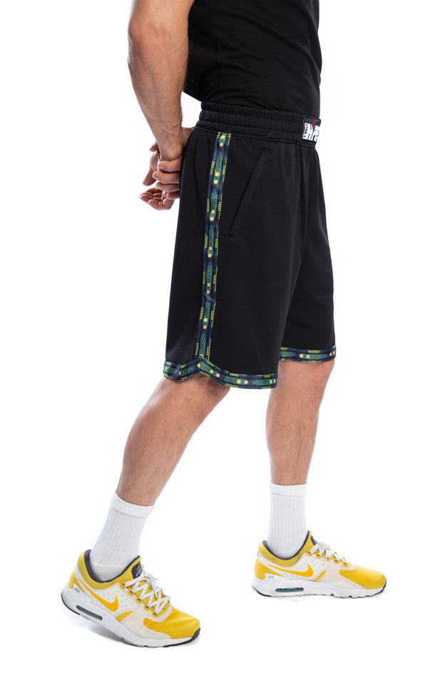 Golden State Warriors Kente Dunk Short Black