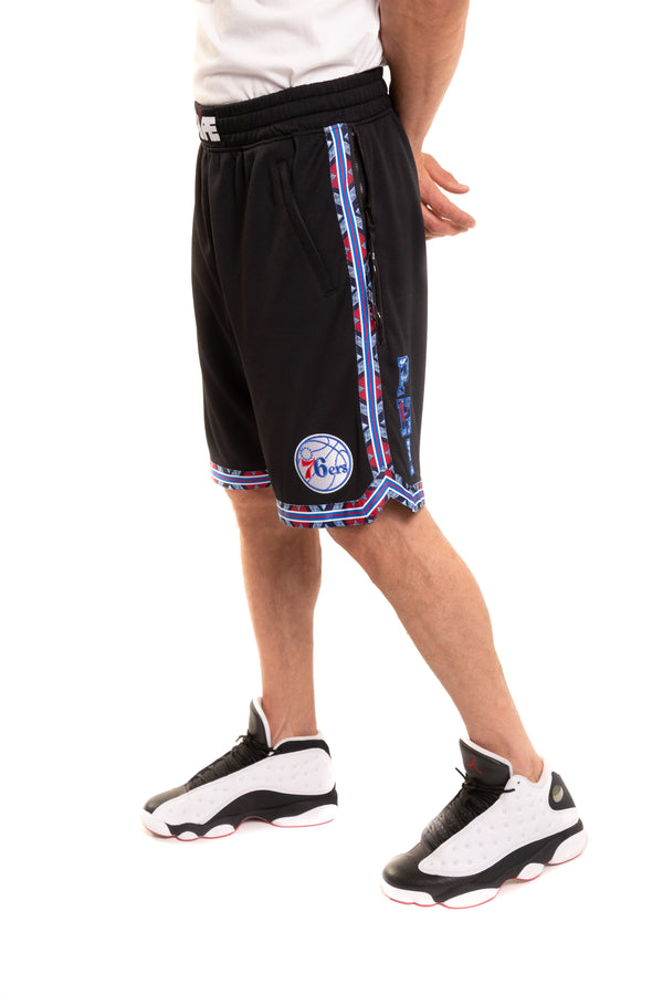 Philadelphia 76'ers Kente Dunk Short Black