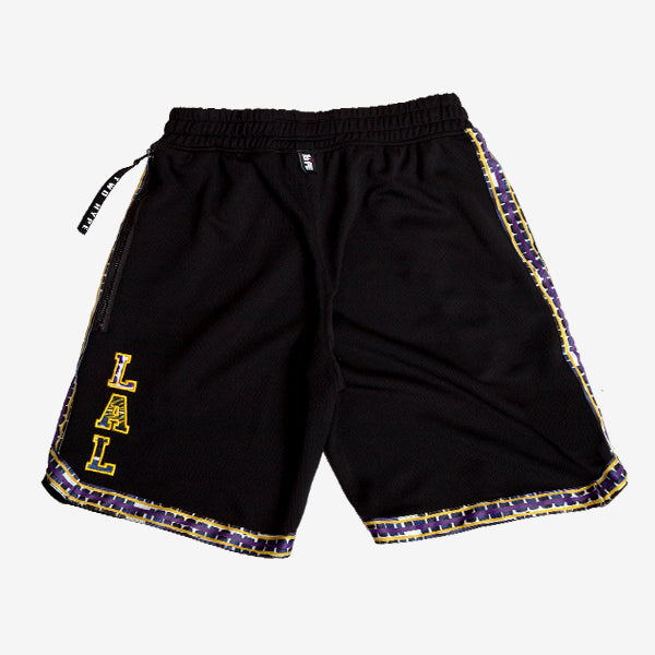 Los Angeles Lakers Kente Dunk Short