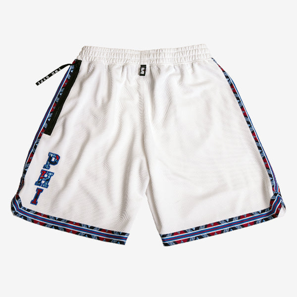 Philadelphia 76'ers Kente Dunk Shorts