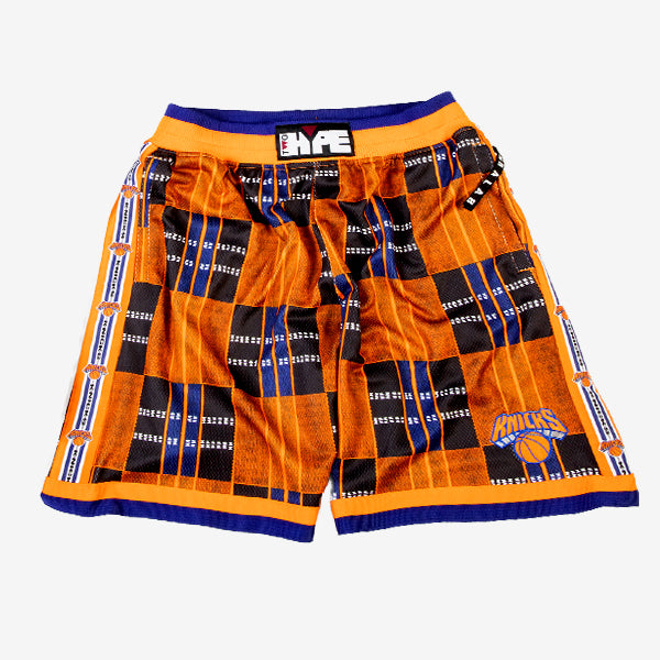 New York Knicks Kente Basketball Shorts
