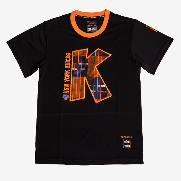 New York Knicks 90's Kente Team Letter Performance T-Shirt