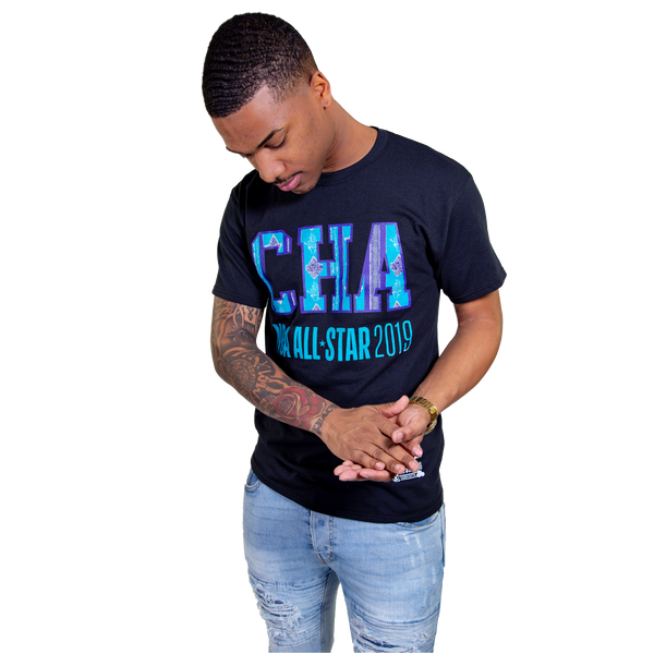 NBA All Star 'CHA' Kente Performance T-Shirt
