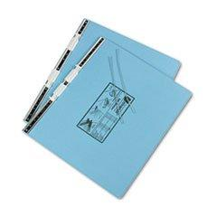 ** Pressboard Hanging Data Binder, 14-7/8 X 11 Unburst Sheets, Light Blue **