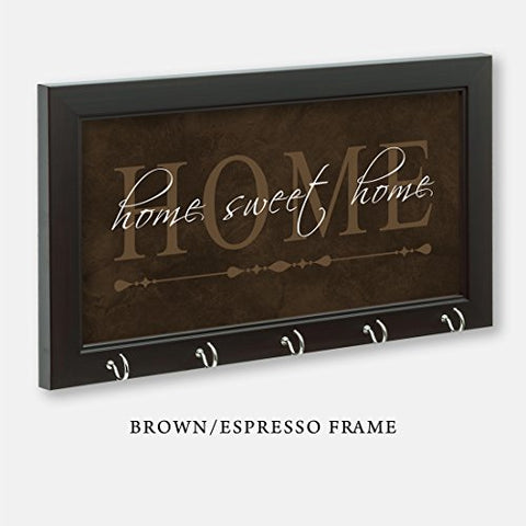 Home Sweet Home Key Holder, Brown Color
