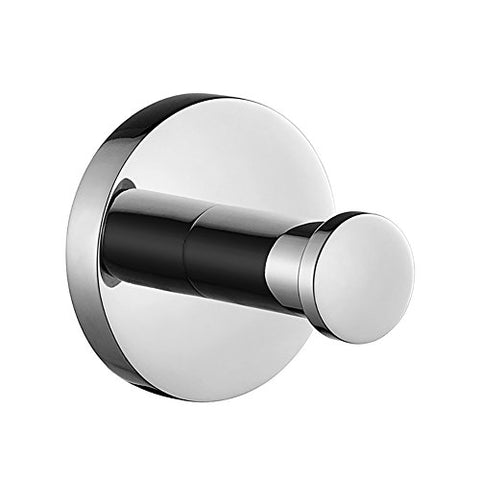 JYPHM Stainless Steel Wall Mount/Coat Hook Single Towel Hook Bathroom Kitchen Brushed