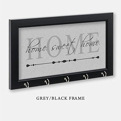 Home Sweet Home Key Holder, Grey Color