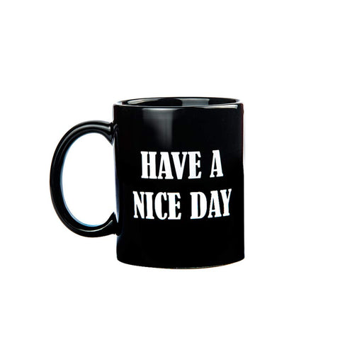 Have a Nice Day Funny Coffee Mug - Unique Christmas Present Idea for Men & Women, Him or Her - Best Office Cup & Birthday Gag Gift for Coworkers, Mom, Dad, Kids, Son, Daughter, Husband or Wife