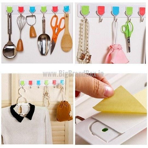 Plastic Wall Super Sticky Hooks