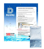 Amazon best dry dry 72 packs net 9 oz pack premium hanging moisture absorber to control excess moisture for basements closets bathrooms laundry rooms