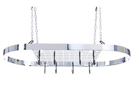 Ceiling Hanging Rack Chrome Wire