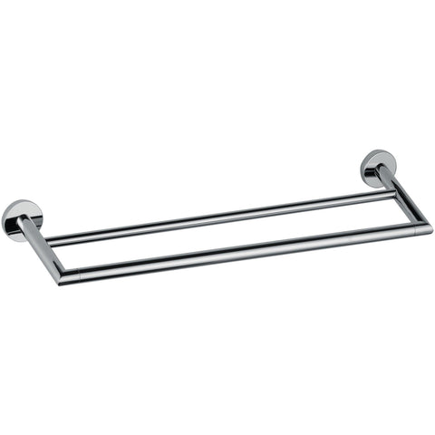 DI Hilton Double Towel Bar Rail Holder Hanger Bathroom Towel Rack - 25.2-inch